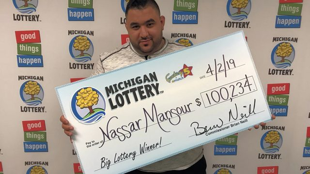 Michigan Lottery: Macomb County man wins $100K Fantasy 5 jackpot