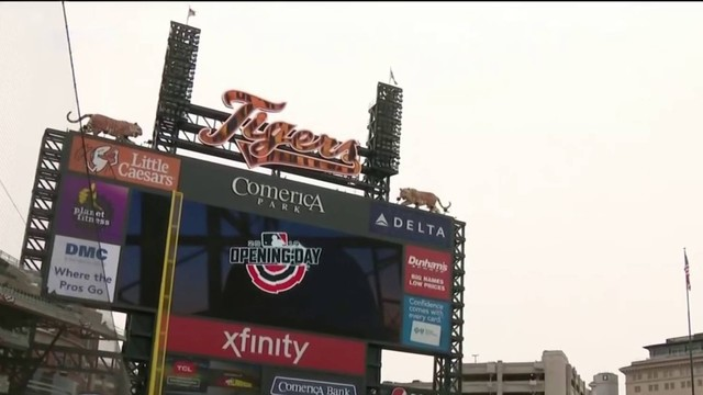 Detroit Tigers fans, players excited for home opener