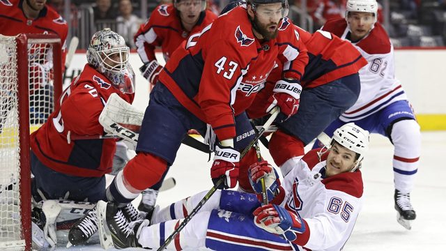 Capitals beat Canadiens to take Metropolitan Division