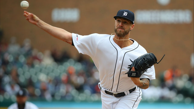 Detroit Tigers' closer Shane Greene leads MLB with 5 saves