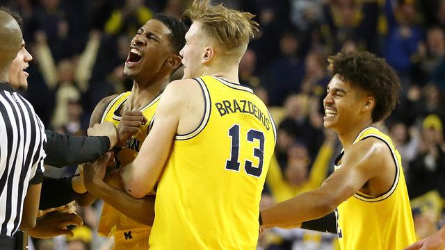 Michigan's Ignas Brazdeikis, Jordan Poole, Charles Matthews to declare…