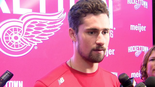 Larkin, Bertuzzi discuss Red Wings season and future at locker cleanout