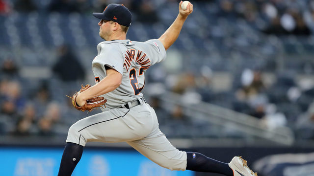 Detroit Tigers place Jordan Zimmermann on 10-day injured list with UCL sprain