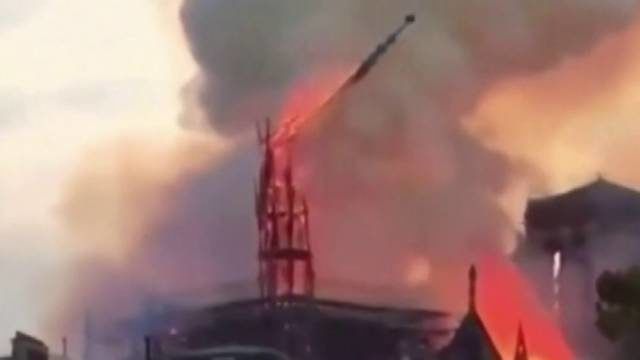 Paris firefighters say that blaze at Notre Dame cathedral is fully extinguished