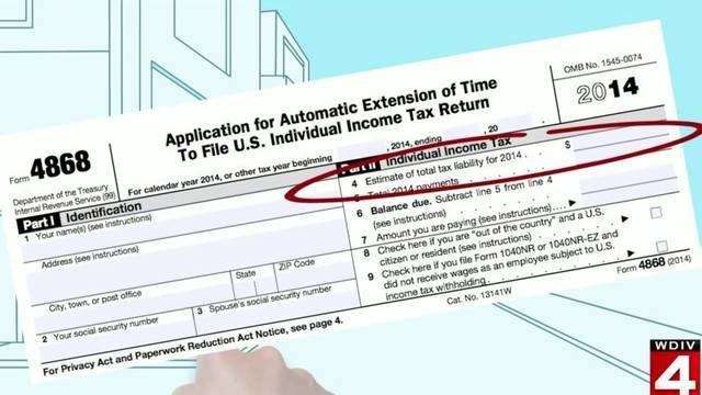 How to file an IRS tax extension