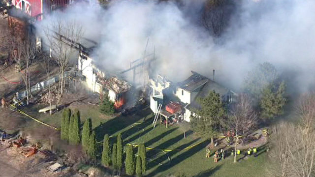 White Lotus Farms: No one injured, all animals accounted for in fire