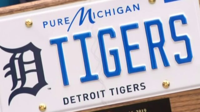 Video Thumbnail For Michigan License Plates Featuring Pro Sports Teams Unveiled