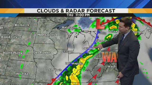 Metro Detroit weather: Rain chances linger into weekend as temperatures rise