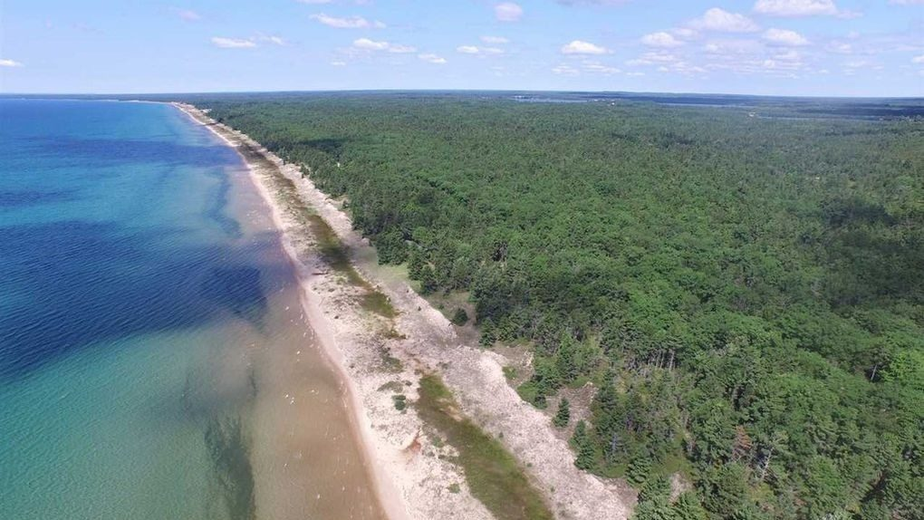 Own 300 acre waterfront property, 2 miles of Michigan shoreline for $14M