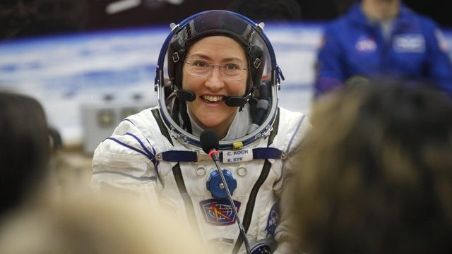 Michigan native to spend 11 months in space, set female record