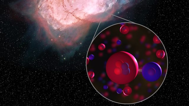 NASA finds first type of molecule ever formed in universe after&hellip&#x3b;