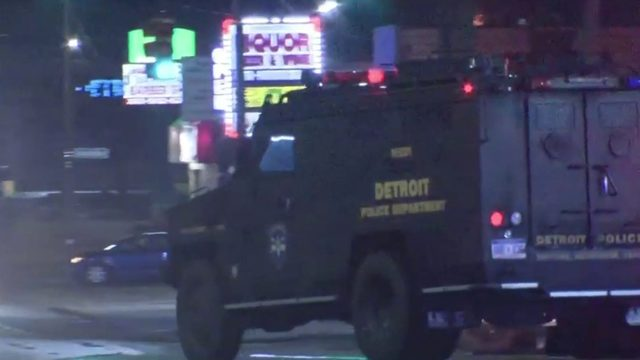 3 arrested after robbery, standoff on Detroit's west side