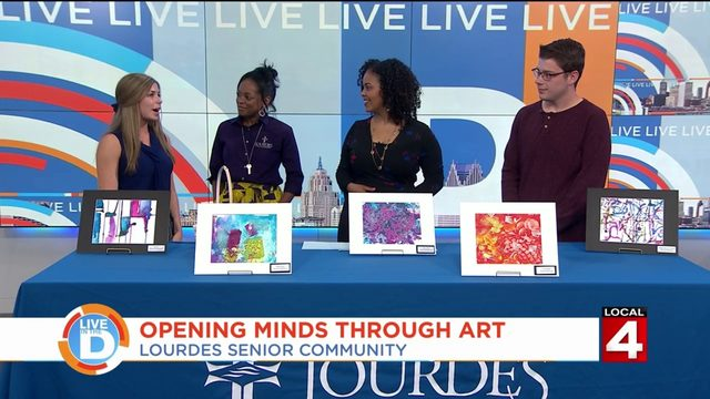 Breaking through the barriers of dementia with art therapy at Lourdes&hellip&#x3b;