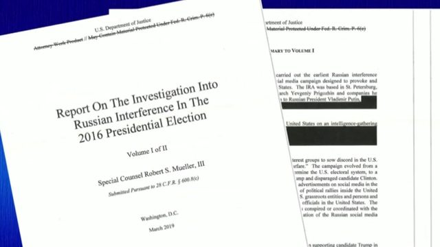 VIEW HERE: Searchable version of redacted Mueller report