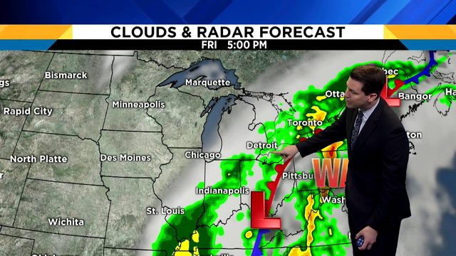 Metro Detroit weather: How long will this rain stick around?
