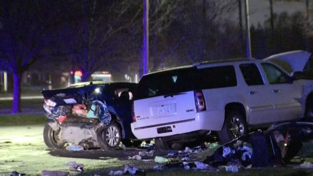 Witness whose vehicle was destroyed in 6-car pileup after chase on&hellip&#x3b;