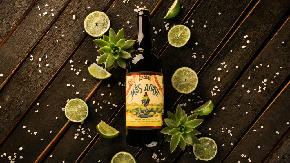 Founders Brewing Co. releasing margarita-inspired, tequila barrel-aged Más Agave beer