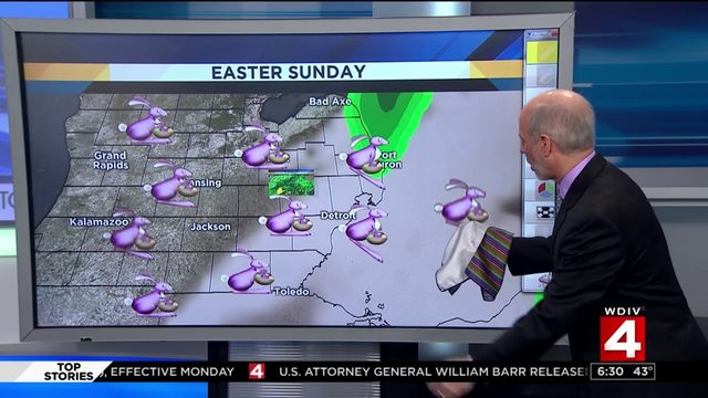 Watch: Paul Gross tries weather magic trick, turns out to be epic fail