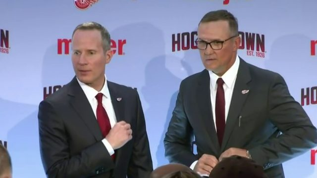 Yzerman steps in as Red Wings GM with 10 draft picks to make this summer