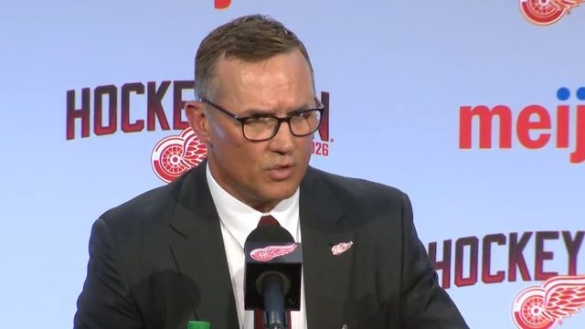 Detroit Red Wings GM Steve Yzerman discusses team's young core, rebuild&hellip&#x3b;