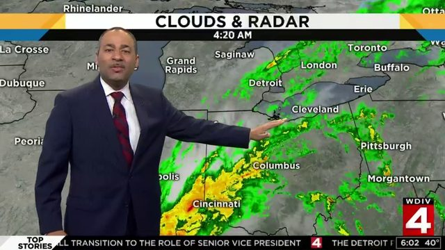 Metro Detroit weather: Rain continues Saturday, what to expect Sunday