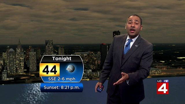 Metro Detroit weather forecast: Bright and milder conditions Easter Sunday