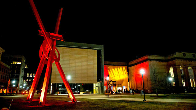 Mark di Suvero's red steel 'Orion' sculpture to be reinstalled Tuesday at U-M
