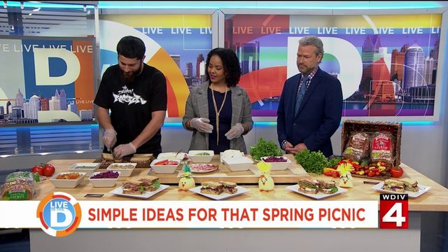 Simple ideas for that spring picnic