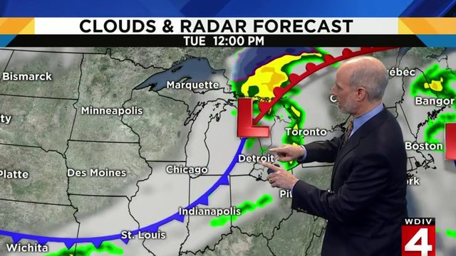 Metro Detroit weather: Nice Monday, then rain chances