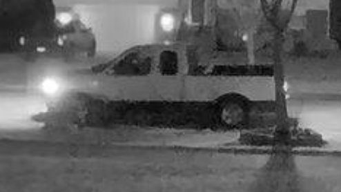 Romulus police: Pickup truck connected to theft of patio furniture