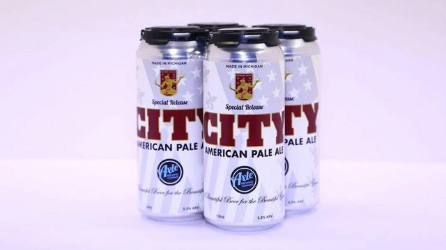 Axle Brewing Co.'s City American Pale Ale set to return ahead of Detroit&hellip&#x3b;