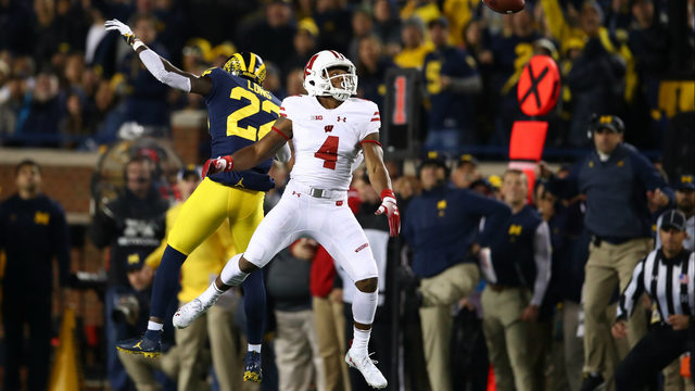 Michigan CB David Long selected by Los Angeles Rams in third round of NFL draft