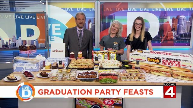 This is a great way to provide a feast for your graduation party!