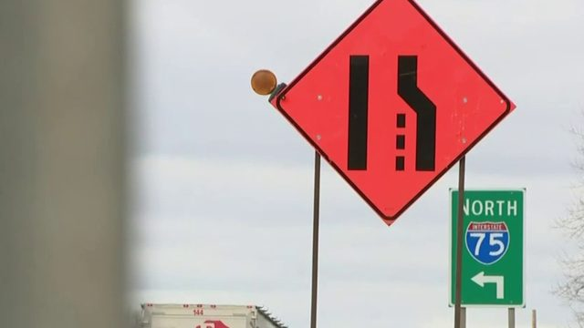 I-75 to be down to 2 lanes in Oakland County segment in May