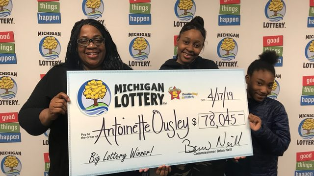 Michigan Lottery: Inkster woman wins half of Fantasy 5 jackpot