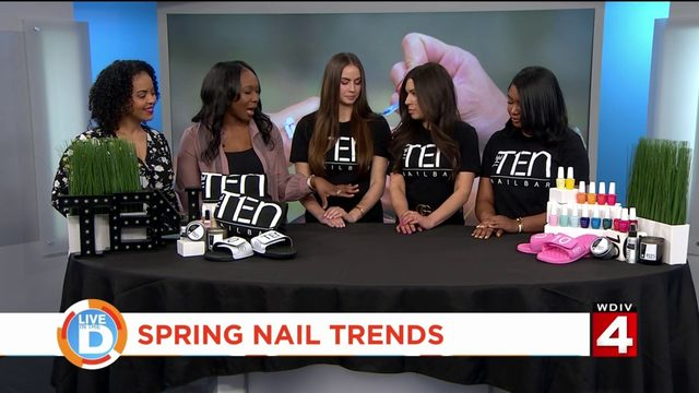 Want to know what nail trends are in for Spring?