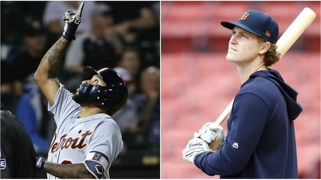 Unlikely heroes lead Detroit Tigers to doubleheader sweep of Boston Red Sox