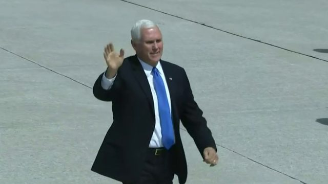 Vice President Mike Pence in Metro Detroit to tour Ford plant