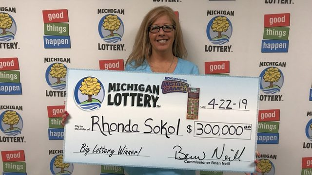 Michigan Lottery: Macomb County woman wins $300K on bingo scratch off ticket
