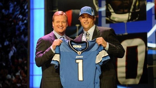 10 years ago: Detroit Lions draft QB Matthew Stafford No. 1 overall