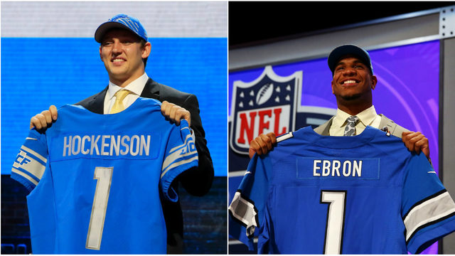Detroit Lions first-round pick T.J. Hockenson isn't Eric Ebron, and it's…