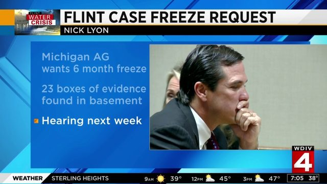 New evidence may delay trial of major player in Flint water crisis