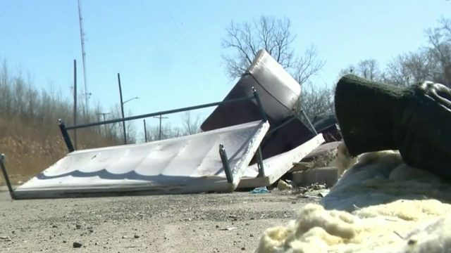 Local 4 Defenders ride along as Detroit police arrest illegal dumping suspects