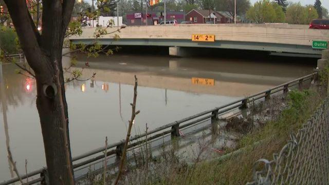 Traffic: Metro Detroit freeways to avoid due to flooding