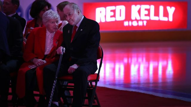 Red Wings, Maple Leafs honoring Red Kelly with public memorial in Toronto