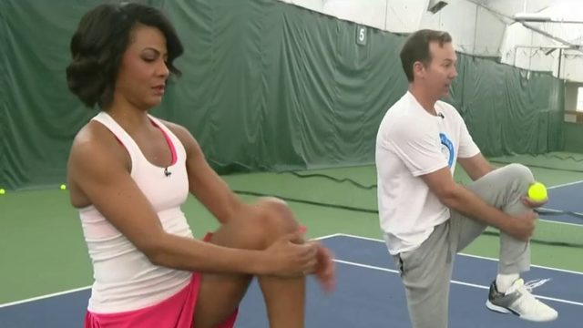Fitness Friday: Taking up tennis
