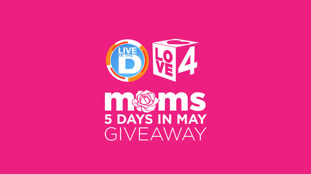 Moms 5 Days in May Giveaway Rules