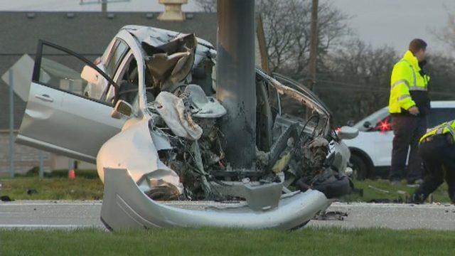 Man killed, woman hurt when speeding SUV slams into pole in West…