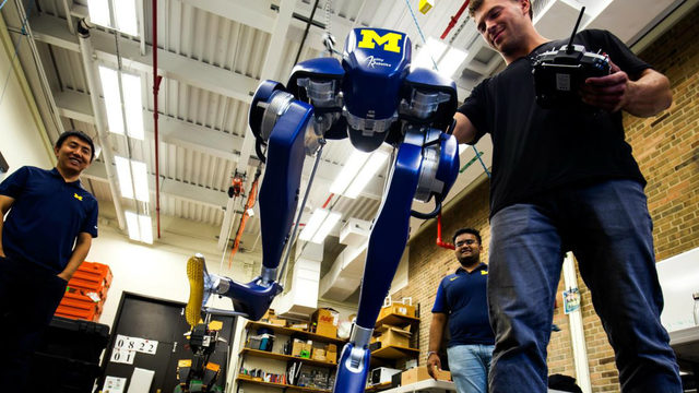 Inside University of Michigan's Robotics Lab in Ann Arbor