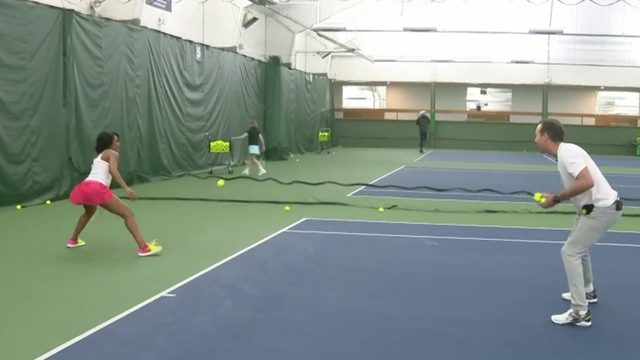 Fitness Friday: Tips for taking up tennis